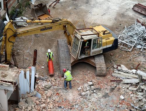 An toàn phá dỡ công trình