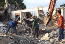 Tháo dỡ công trình tại Bình Dương