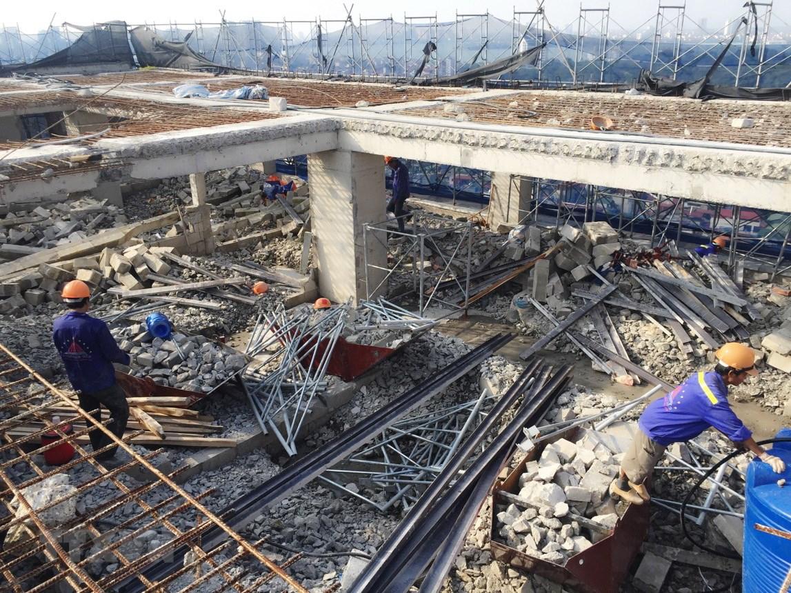 Phá dỡ công trình tại Bình Thạnh