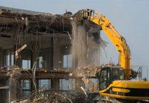 Phá dỡ công trình tại Quy Nhơn