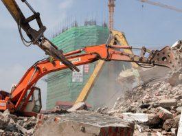Phá dỡ công trình tại An Giang