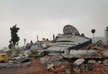 Phá dỡ công trình tại Bình Thuận