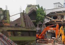 Phá dỡ công trình tại Phú Yên