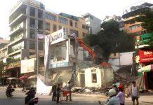 Phá dỡ công trình tại Quảng Ninh