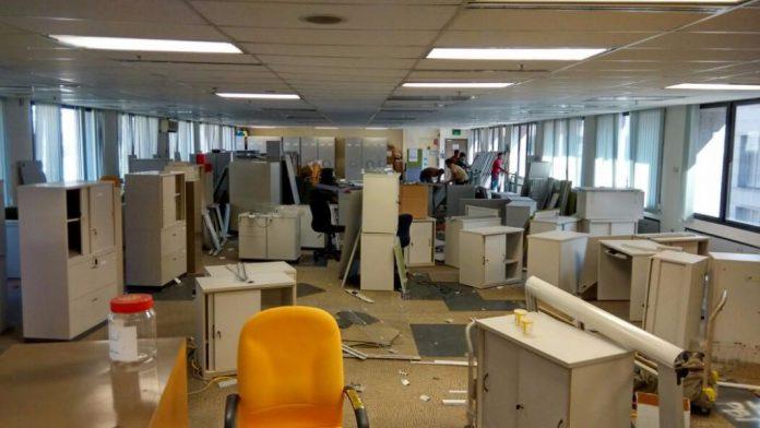 Tháo dỡ văn phòng tphm